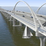 Can you describe the features and amenities of the new bridge?