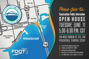 17th Avenue interchange project public information open house scheduled June 11 in Pensacola