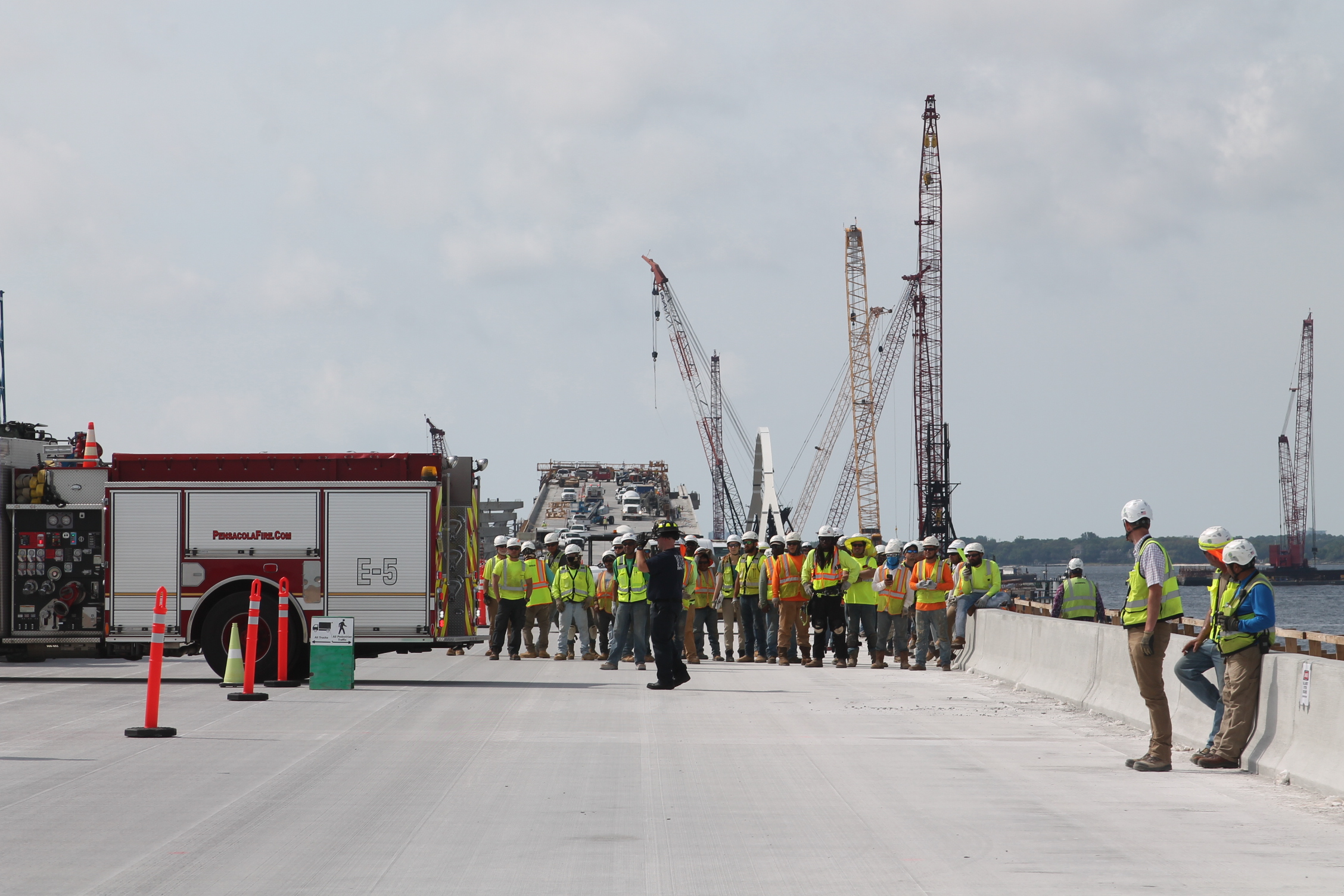 Pensacola Bay Bridge design-build contractor observed the organization's 15th Annual Health and Safety Week