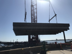 Pensacola Bay Bridge demolition begins