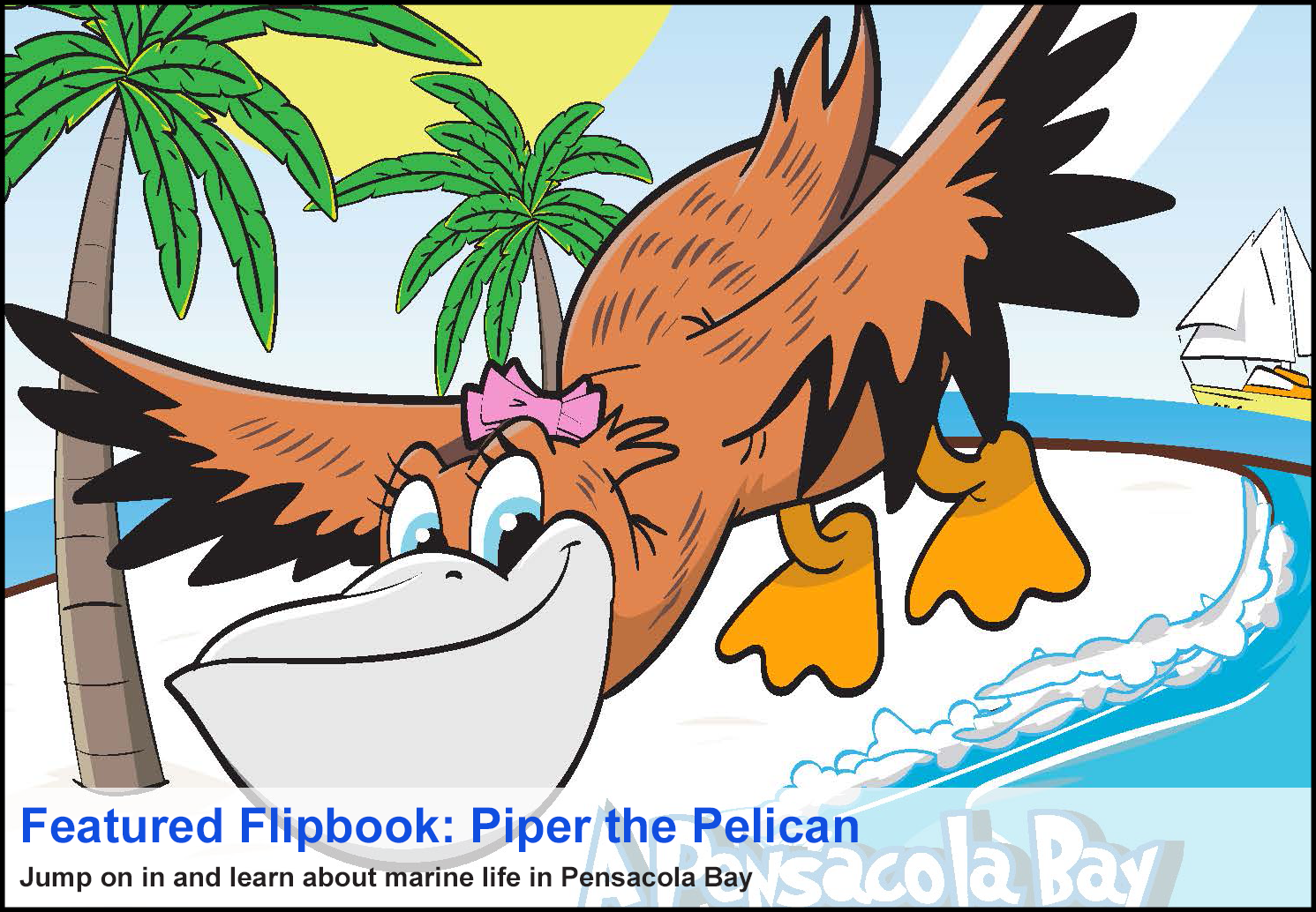 Piper the Pelican Flipbook