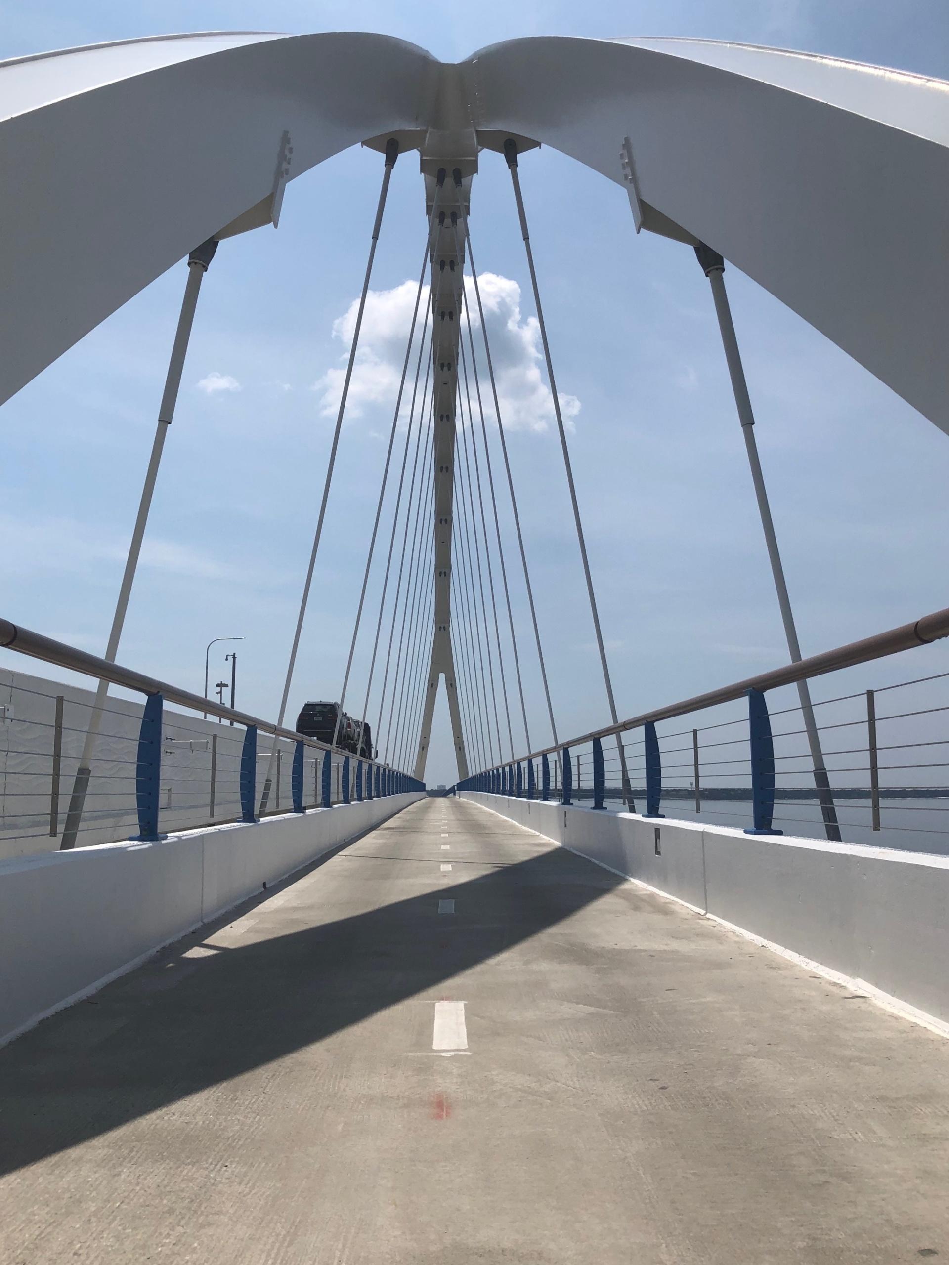 The Pensacola Bay Bridge multiuse path is now open