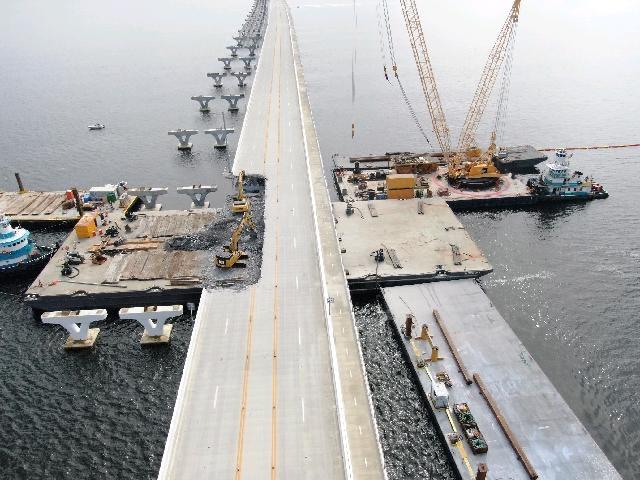Bridge assessment shows no additional damage from Hurricane Zeta