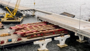 Pile driving for Pensacola Bay Bridge repairs to start in December