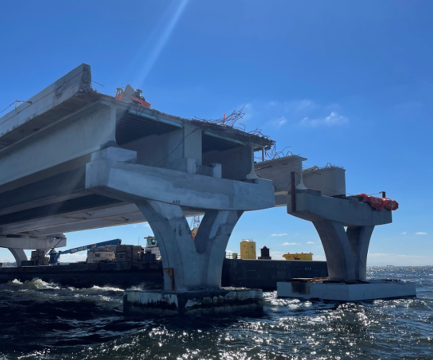 Bridge reopening now estimated for week of May 31