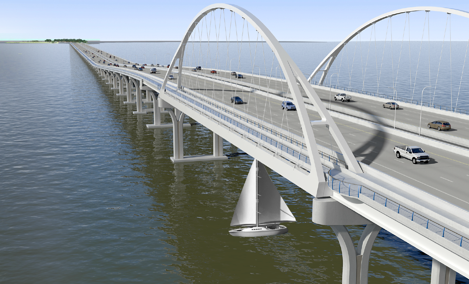 Boating and Pedestrian Restrictions near Pensacola Bay Bridge
