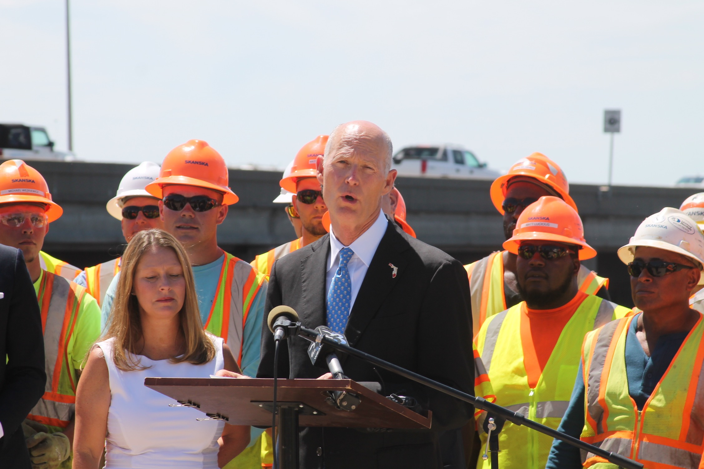 Gov. Scott kicks off construction of the Pensacola Bay Bridge
