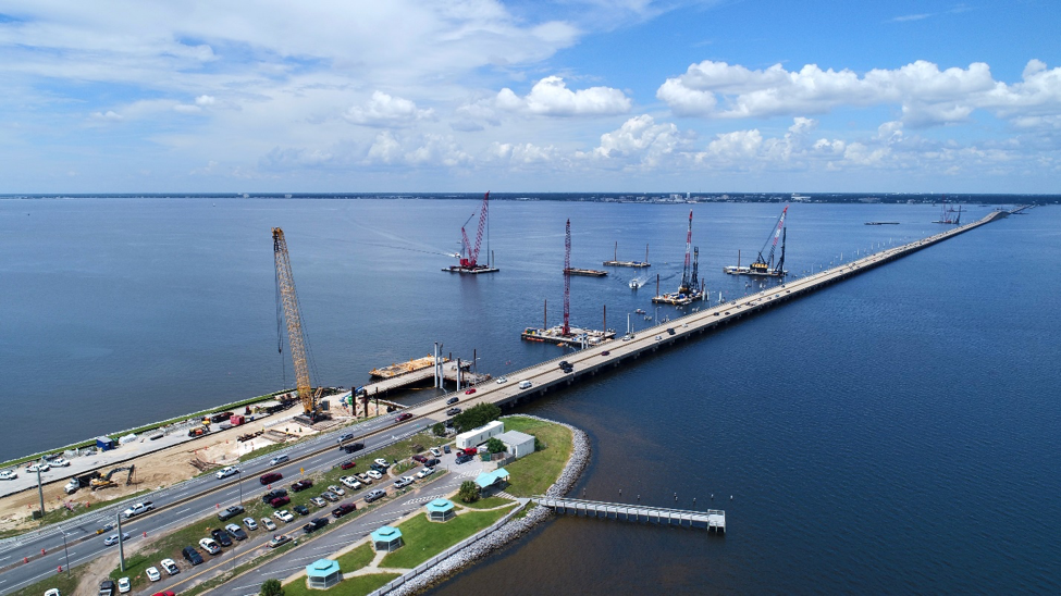 """Barges, cranes and other equipment moved to """"safe haven"""""""