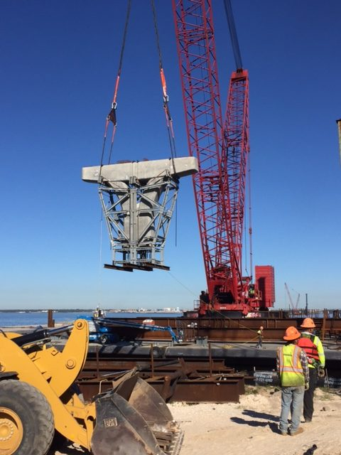 Milestone reached for bridge construction
