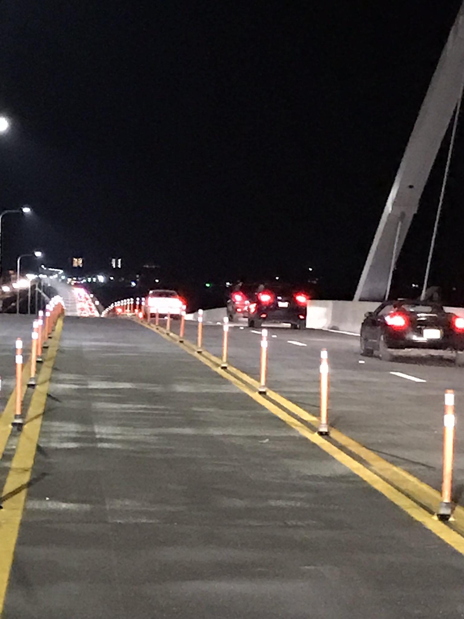 New bridge opens to traffic