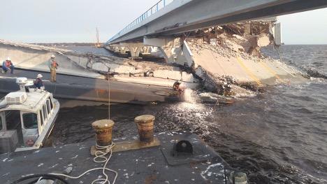 FDOT update on Pensacola Bay Bridge recovery efforts