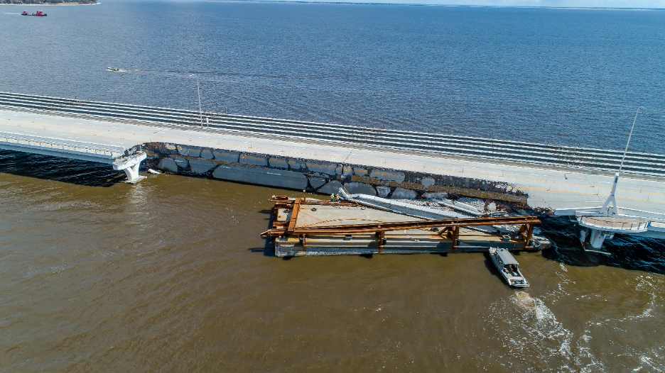 Bridge repairs expected to take approximately six months