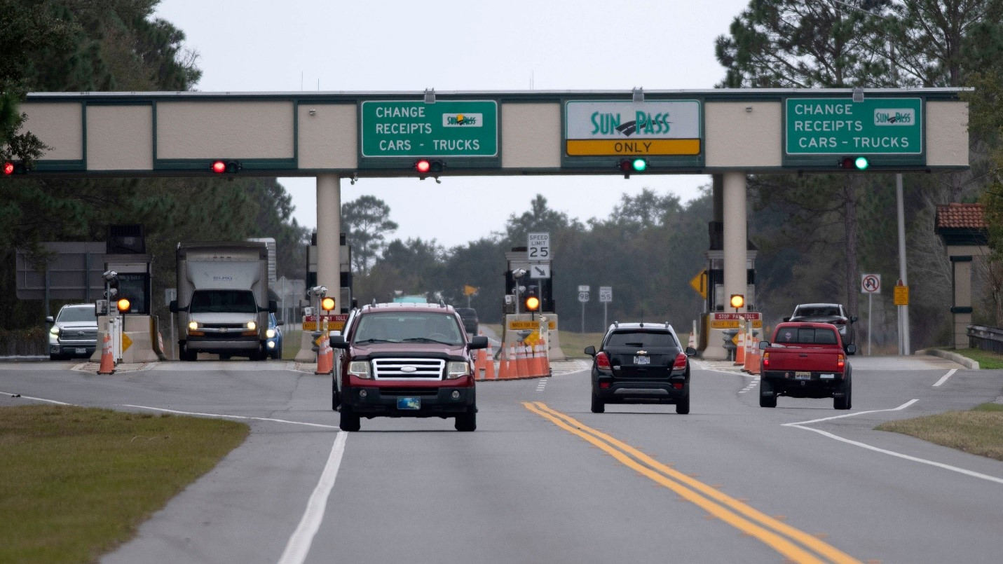 Garcon Point Bridge toll suspension extended