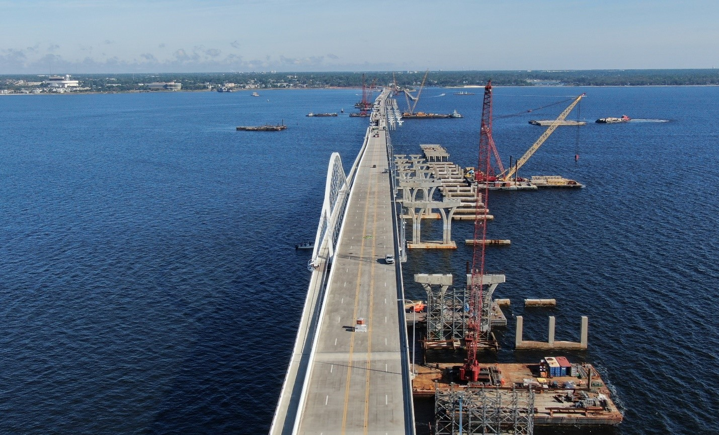 FDOT issues update on Pensacola Bay Bridge repairs