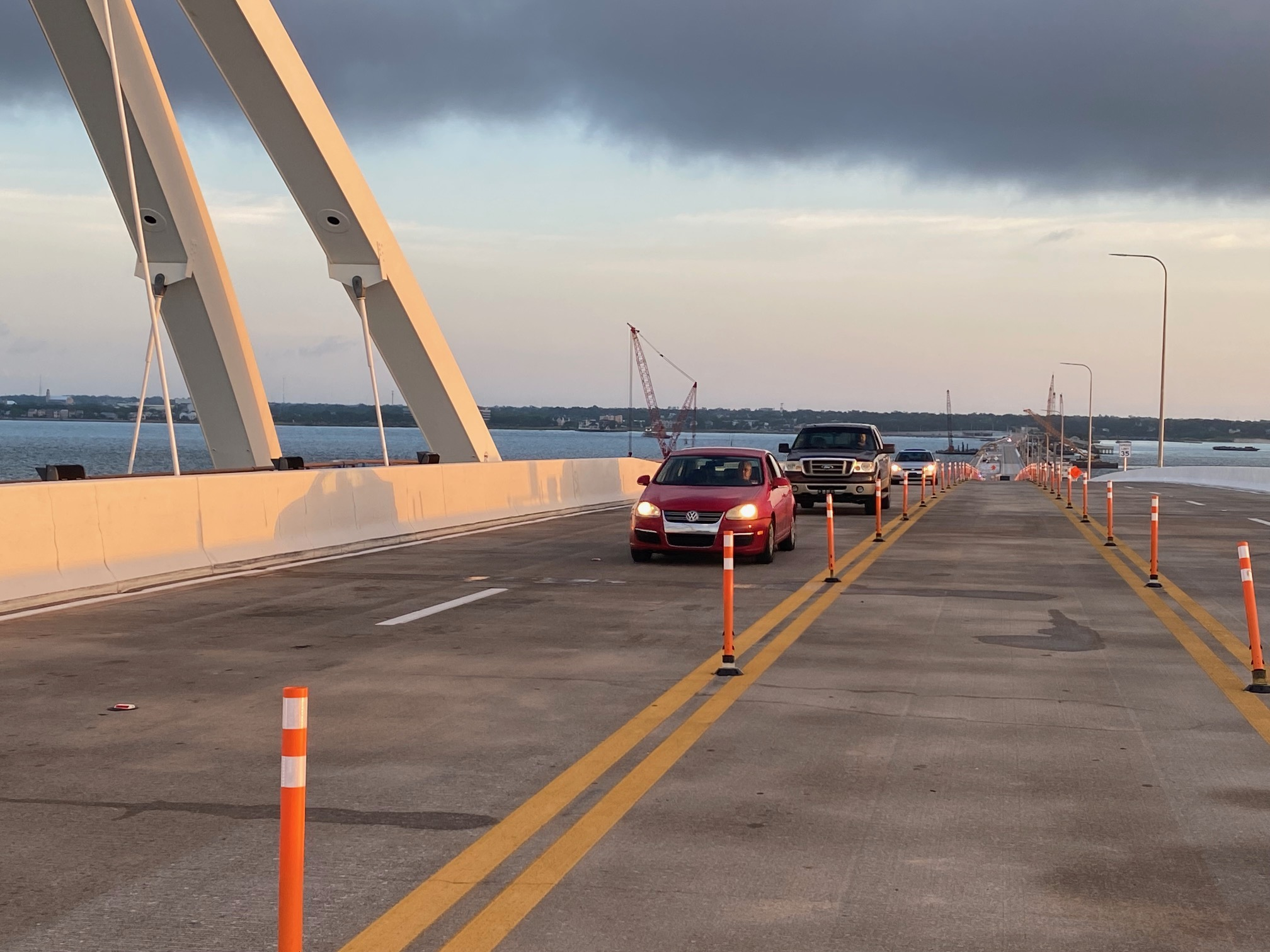Traffic restored to the Pensacola Bay Bridge