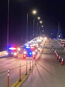 Four lanes of traffic restored to the Pensacola Bay Bridge